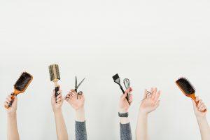 instruments de coiffure